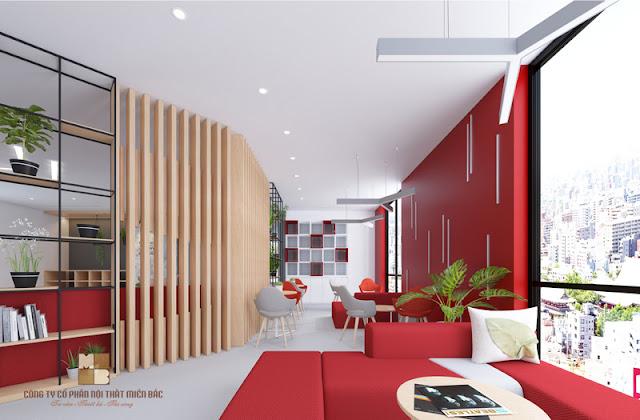 Khi thiết kế nội thất phòng làm việc đẹp hiệu quả lẫn hiệu suất công việc chắc chắn sẽ được tăng lên một cách đáng kể
