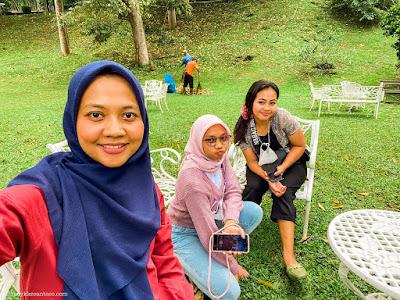 Bermain di area Arun Daya untuk wedding party di Bumi Kayom Salatiga