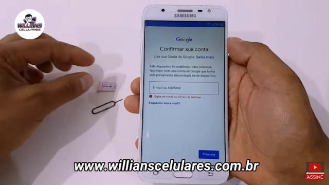 Aprenda como Remover a Conta Google Samsung J7 Prime Atualizado, android 7, android 8, Super Rápido e fácil. Sem PC.