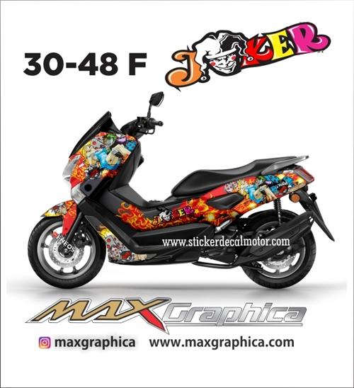 Sticker decal yamaha nmax fullbody printing desain suka suka