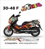 NMAX joker custom desain