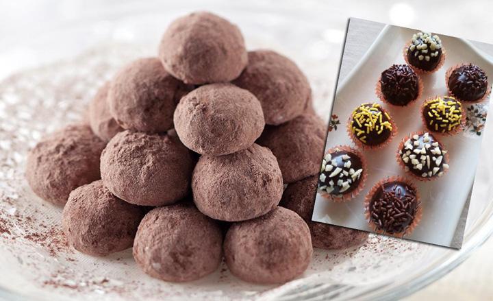 Resepi Biskut Raya Choco Ball