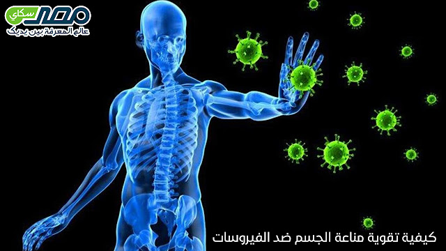 كيفية تقوية مناعة الجسم ضد الفيروسات