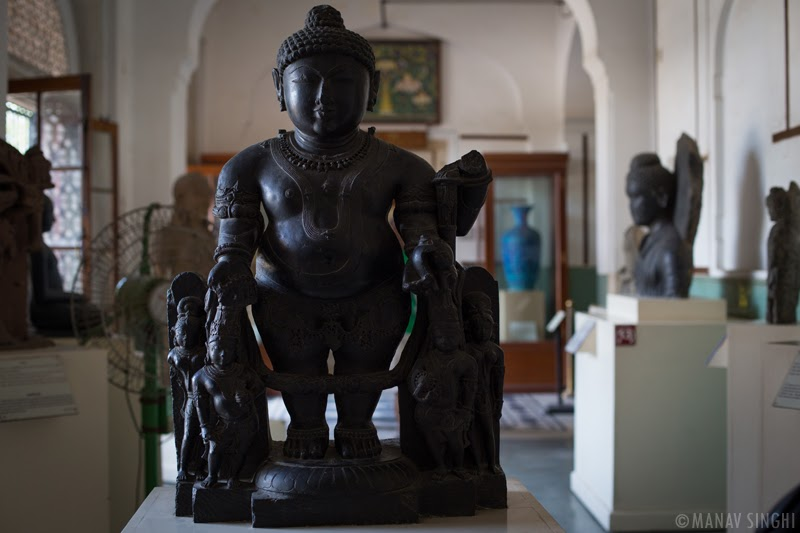 Statue of  Vaman Vishnu  at Albert Hall Museum, Jaipur.