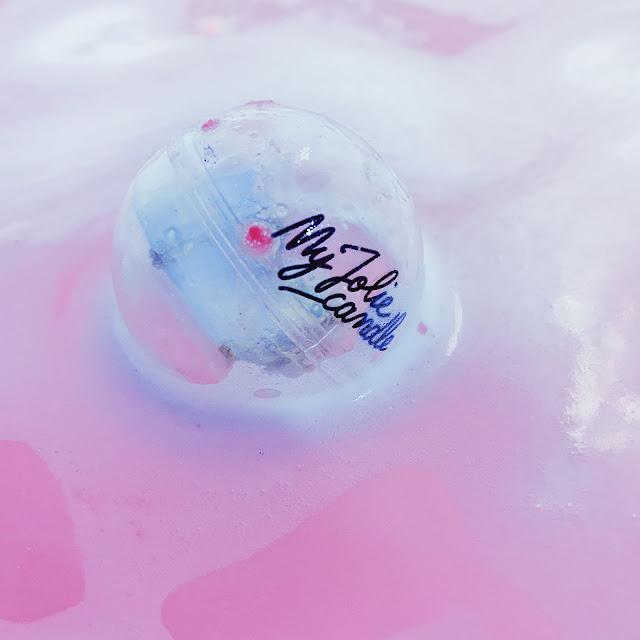 bracelets swarovski pink rose senteur candy boules de bain bougie hasard blog beauté cosmeto factory bio blogueuse