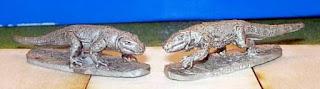 Splintered Light Komodo Dragons