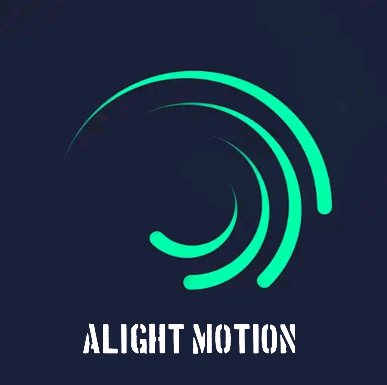 Alight motion pro apk logo