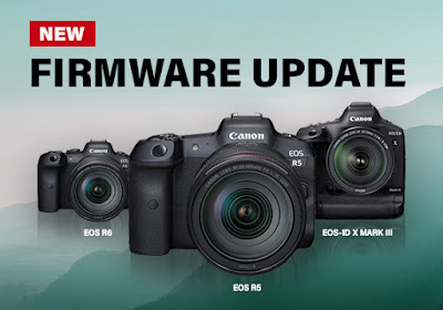 Canon releases firmware updates for EOS R5 EOS R6 EOS-1D X Mark III
