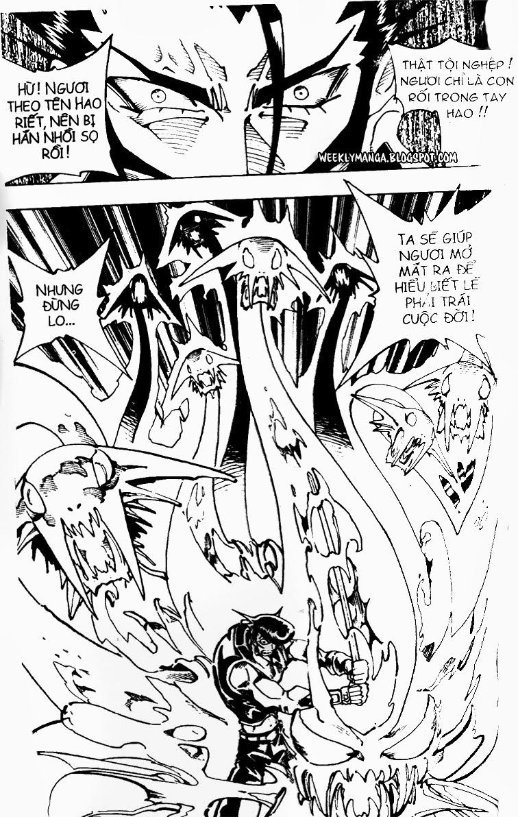Shaman King [Vua pháp thuật] chap 102 trang 3