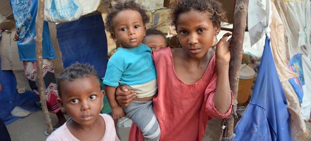 Desplazados internos en e Hodeida.UNFPA