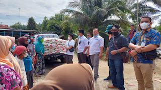 Kadin Batubara Bantu Warga Terdampak Banjir Dan Warga Terpencil Di Pulau Puli