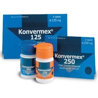 jenis obat konvermex