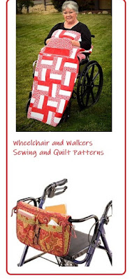 Wheelchairs and Walkers Sewing and Quilt Patterns