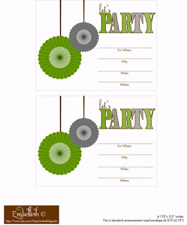 free printable invitation cards