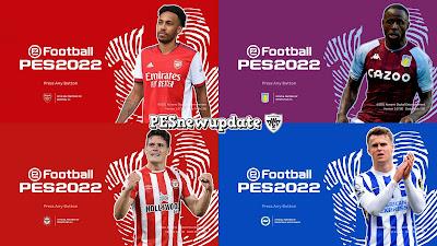 PES 2021 Menu Pack Premier League Vol 1 by PESNewupdate