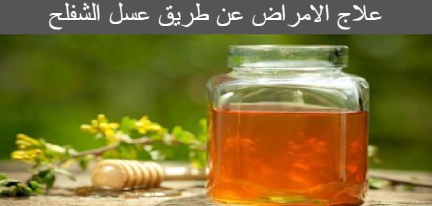 علاج الامراض عن طريق عسل الشفلح