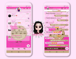 Cartoon Theme For YOWhatsApp & Fouad WhatsApp By Ariana