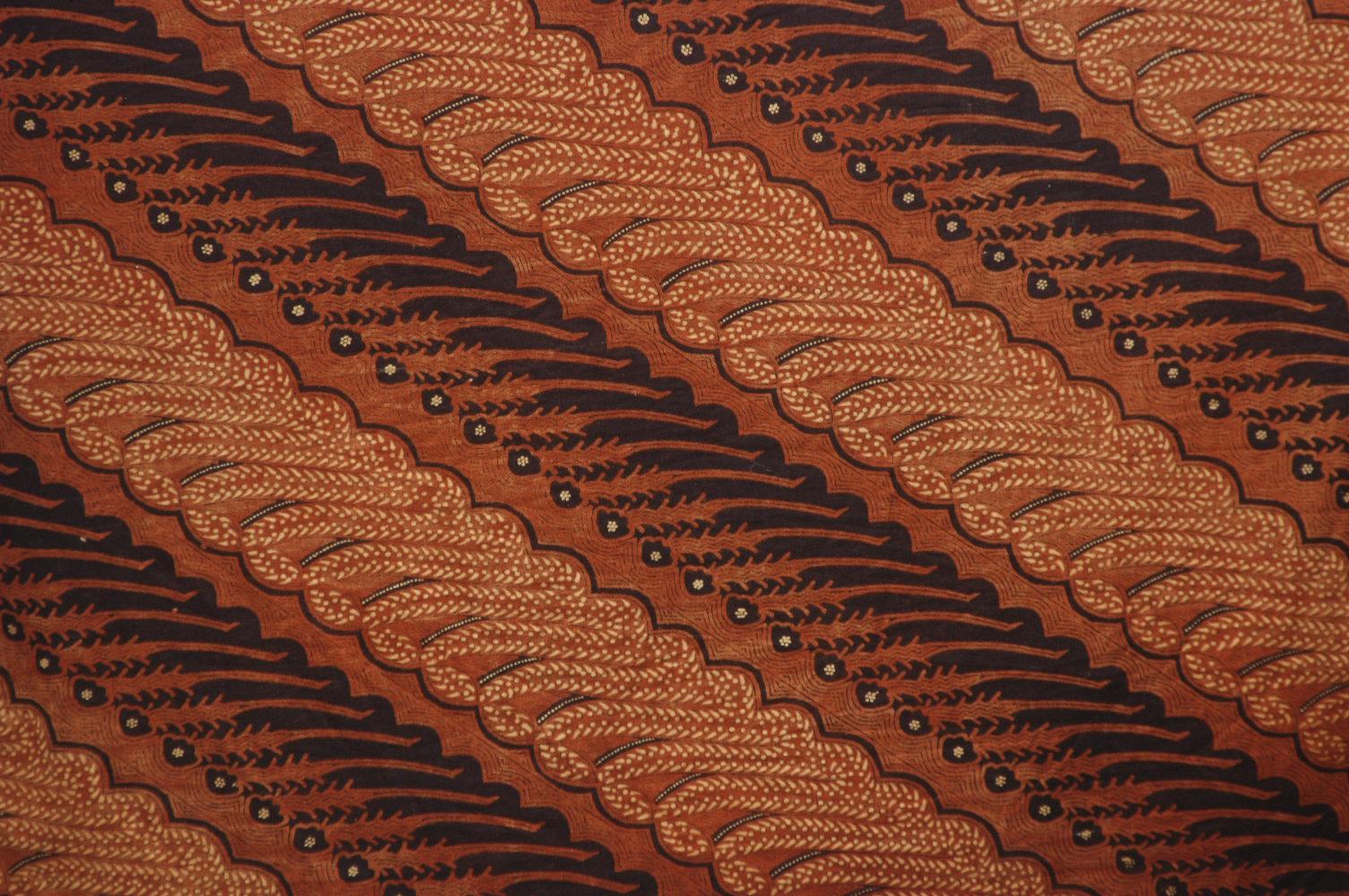 Indonesian Abstrak Batik: Pecinta Budaya Jawa