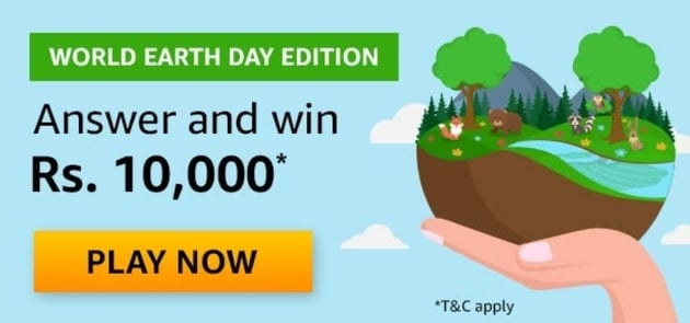 Amazon World Earth Day Edition