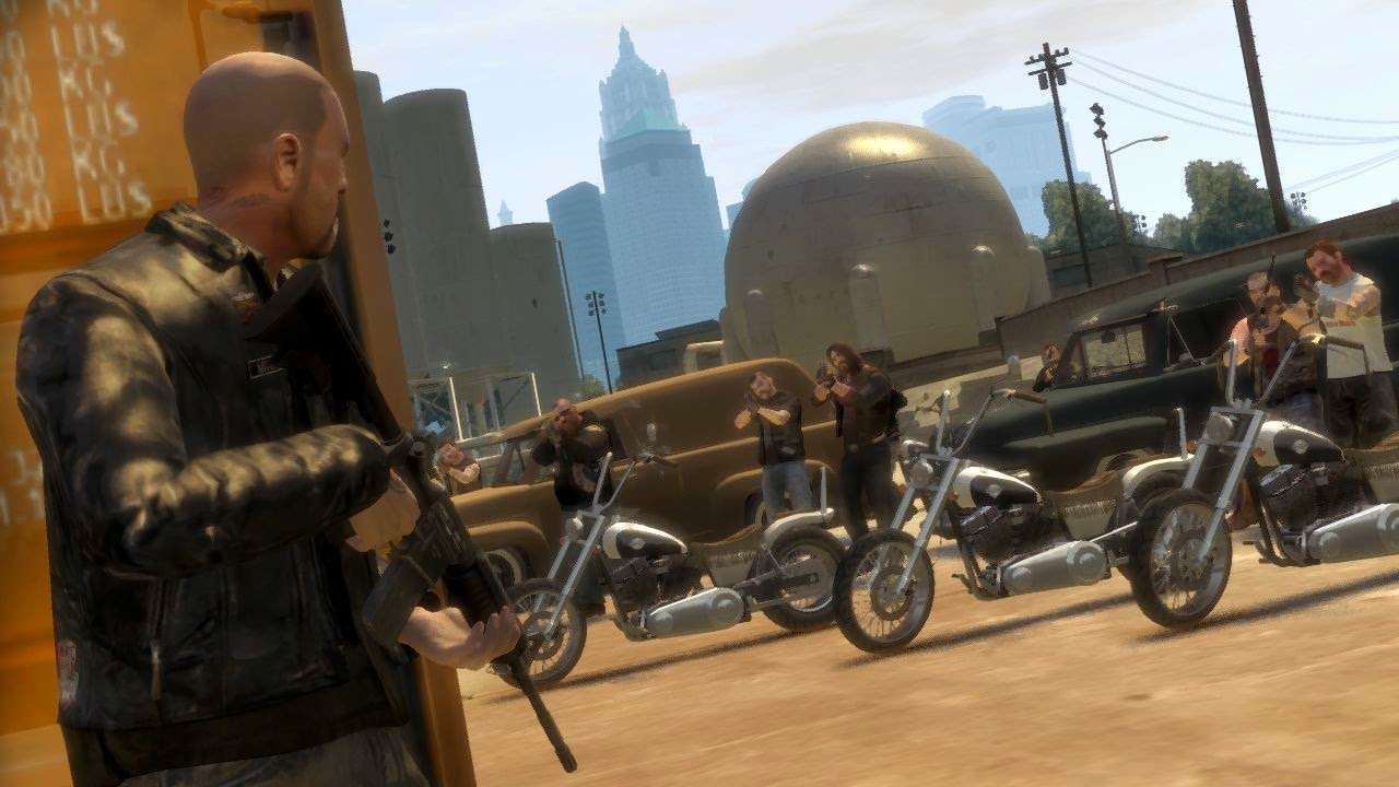 GRAND THEFT IV: THE LOST AND DAMNED
