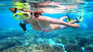 Snorkeling Murah Bali di Cristal Bay