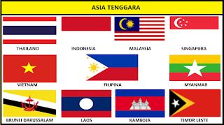 Bendera Negara Asia Tenggara