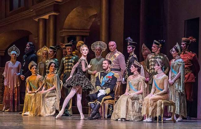 Ballet Anastasia familia romanov