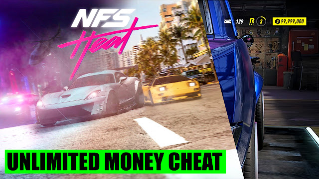 NFS Heat Unlimited Money Cheat PC
