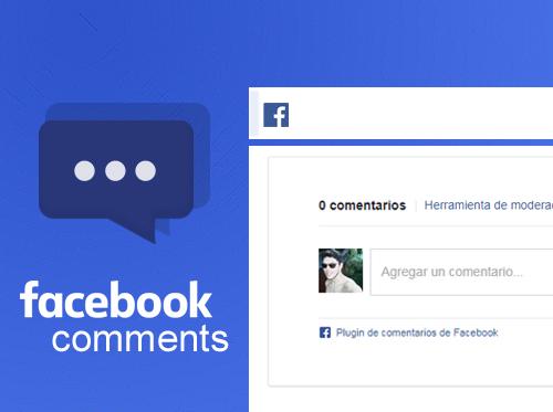 Habilitar la moderación de los comentarios de facebook
