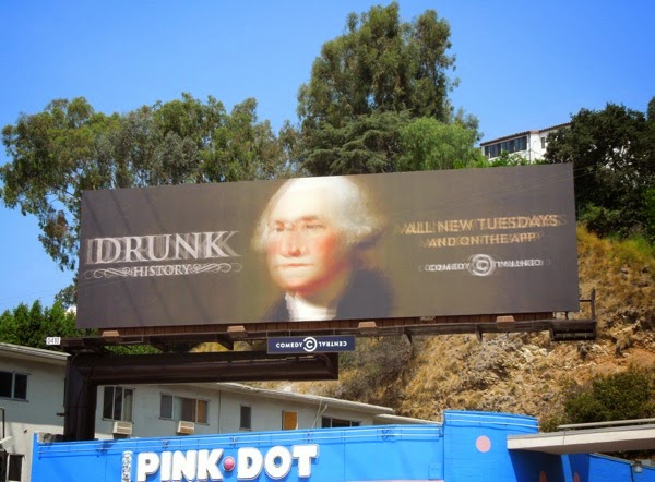 Drunk History season 2 billboard