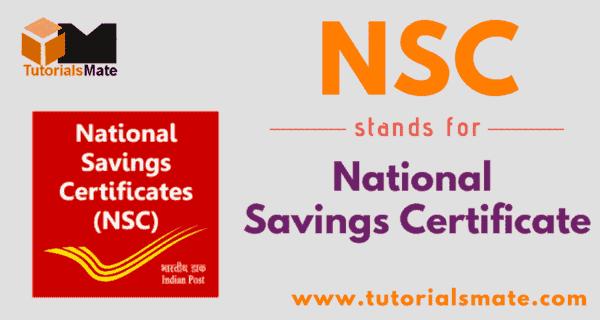 NSC Full Form