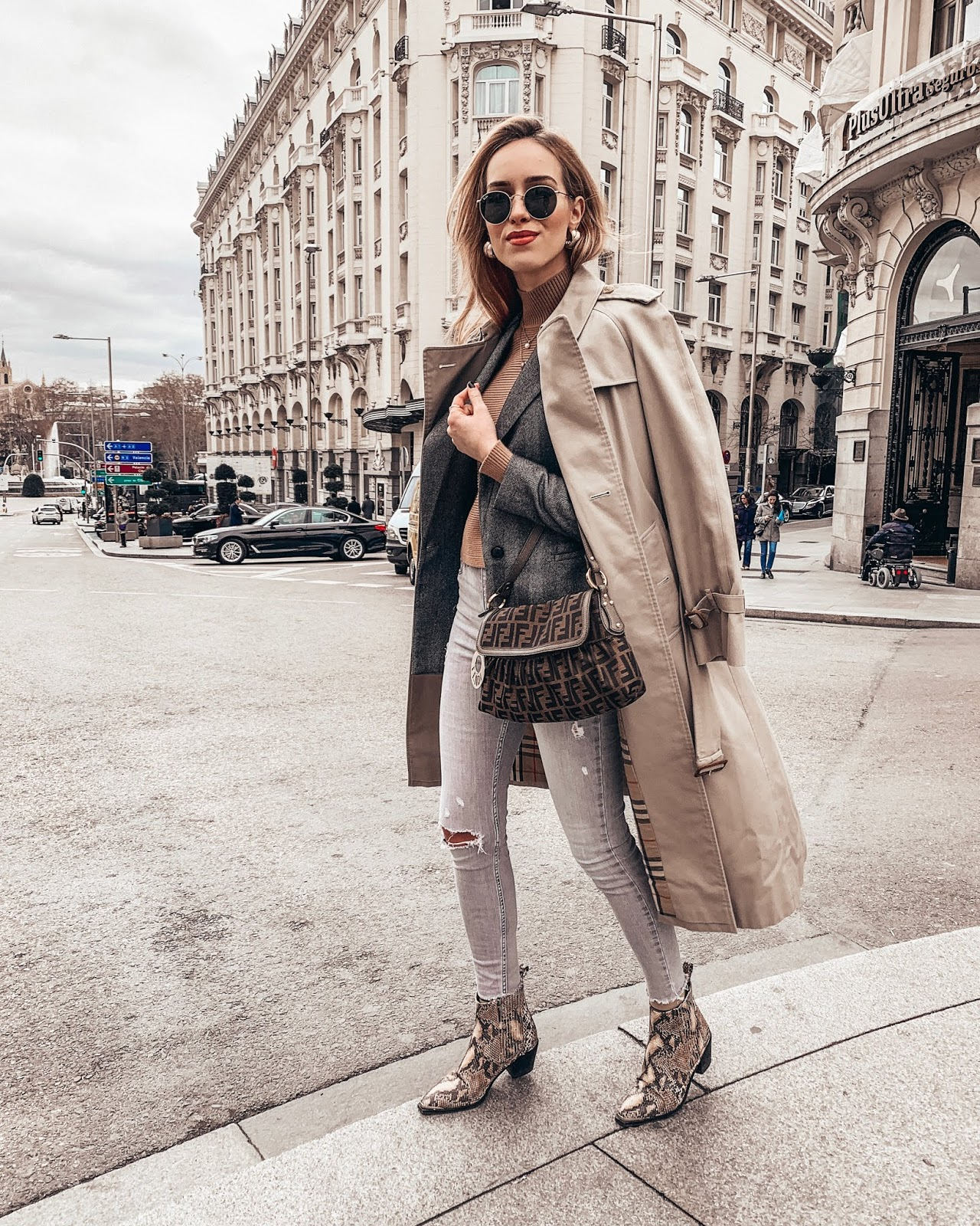 burberry coat outfit
