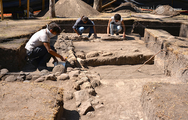 Teotihuacan-style farmhouse discovered in Mexico's Chapultepec Forest