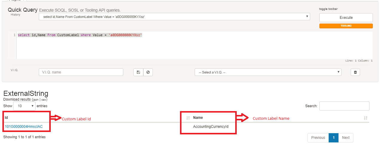 How to Check Custom Labels Values Using SOQL - Salesforce Code Crack