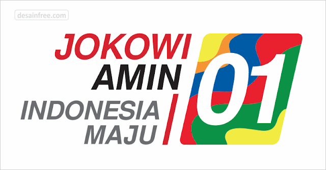 Download Logo Jokowi-Amin #01 Format CDR