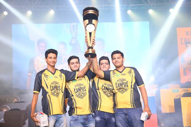 """Check Out This Awesome Winner Winner Chicken Dinner Pubg: Team """"The Terrifying Nightmares"""" Wins PUBG MOBILE Campus"""
