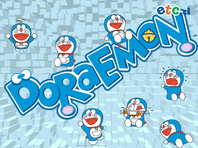 Doraemon Winter Fun HD Wallpaper