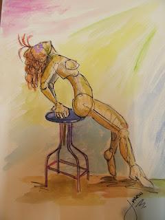 Arte erótico  jorge marin artista colombiano