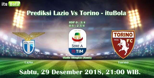 Prediksi Lazio Vs Torino - ituBola