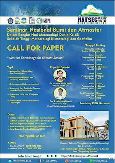Lomba Penulisan Ilmiah Call For Paper - SENBA 2018 by STMKG