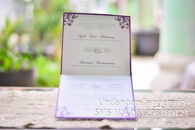 Undangan Pernikahan Unik dan Murah di tangerang