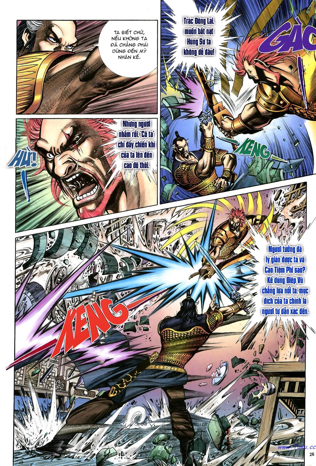 Anh hùng vô lệ Chap 22 trang 27
