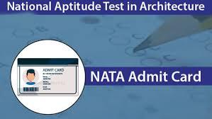 NATA admit card 2020,NATA 2020,nata.in,freejobalert,job alert,free job alert 2020,textnews,textnews1,rajasthan news,freejobalert 2020