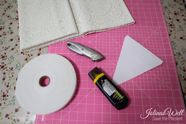 Material für wetterfeste Wimpelkette