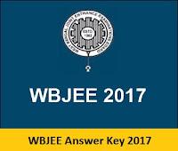 WBJEE Answer Key 2017