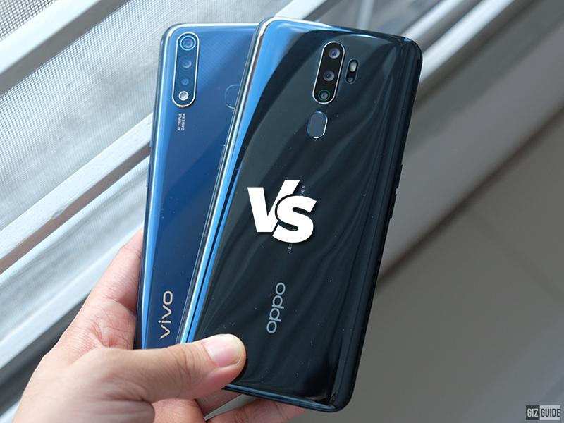 Vivo Y19 vs OPPO A5 2020 Specs Comparison