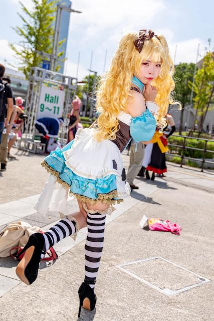 Tokyo Game Show 2019: Yuk Intip Foto-foto Cosplayer Cantik dan Kawaii yang Datang ke Acara!