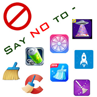 Say no to Cleaning Apps