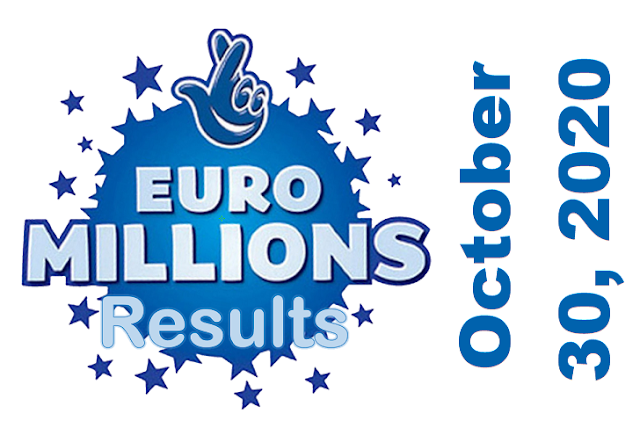 EuroMillions Results for Friday, October 30, 2020