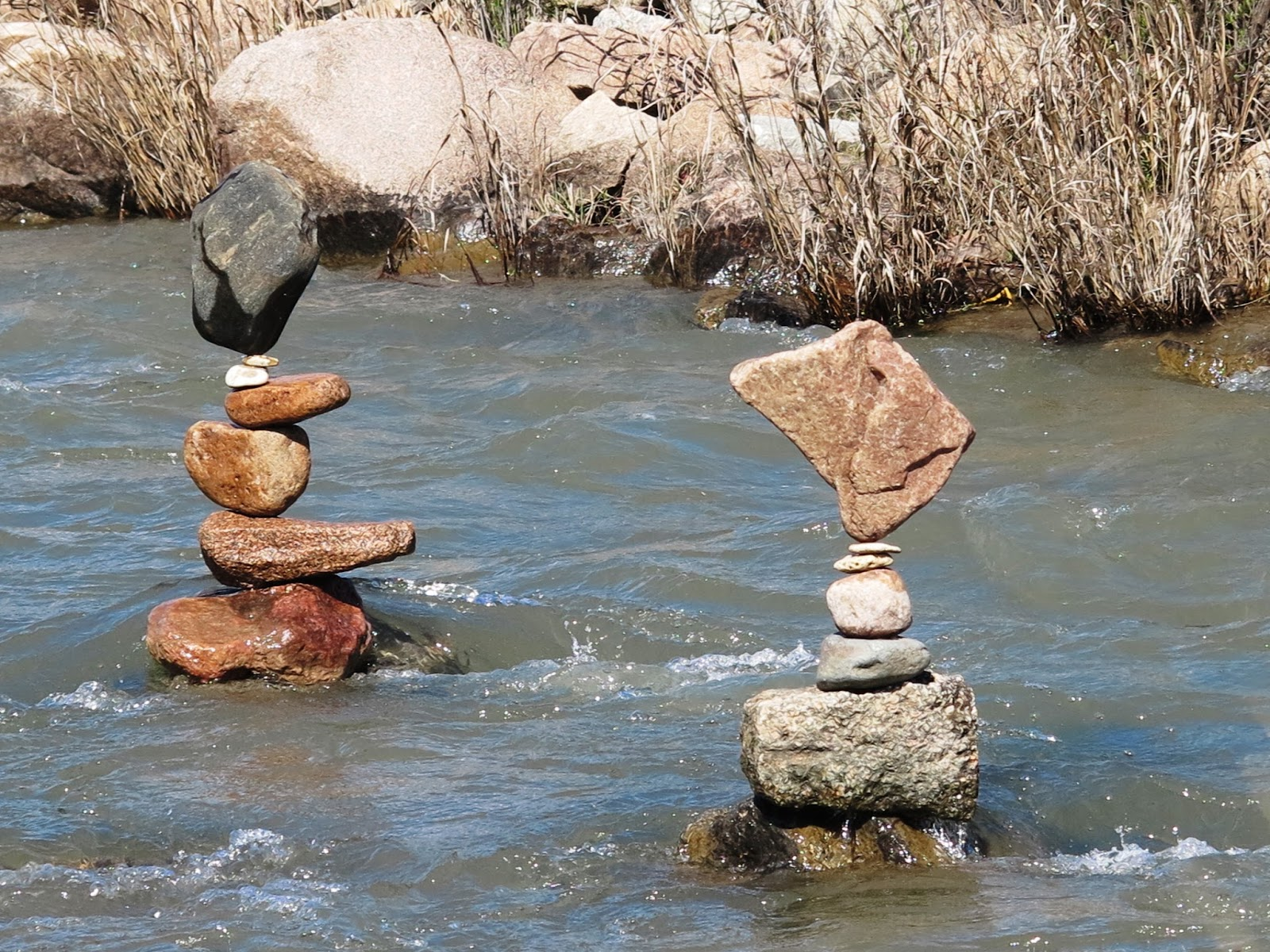 Going On Adventures The Art And Fun Of Stacking Rocks